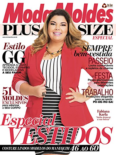 Moda Moldes Plus Size - Especial Ed.01 (Portuguese Edition) by [On