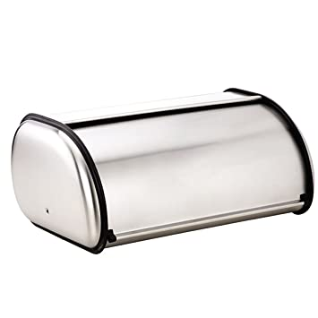 MUZI - Panera de acero inoxidable para cocina, 33 x 28 x 14 ...