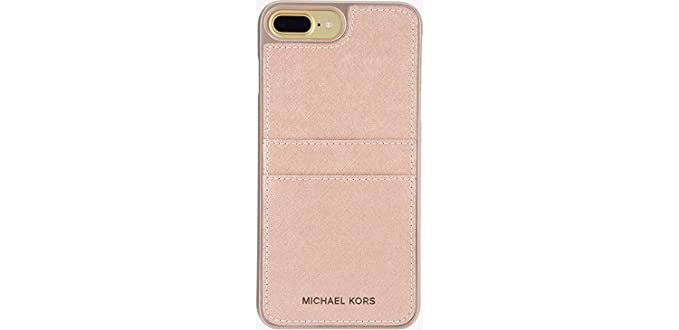 9b1b8e60a31 Amazon.com: Michael Kors Saffiano Leather Case With Pockets for ...