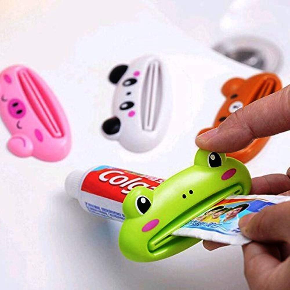 Plastic Roll Tube Squeezer Useful Toothpaste Easy Dispenser Bathroom Holder LOT