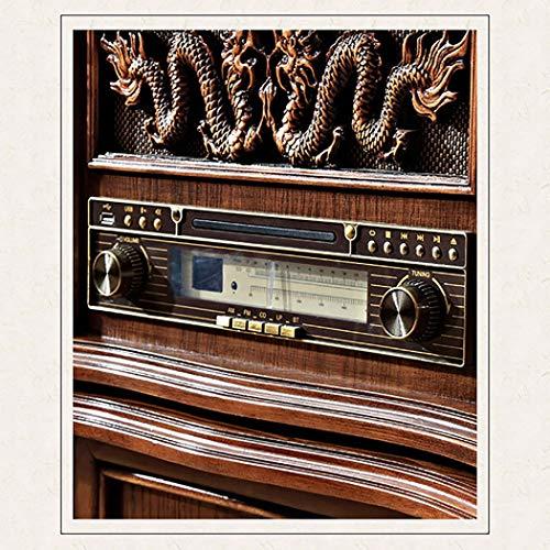 RAPLANC Reproductor de Discos de Vinilo de Estilo Vintage ...