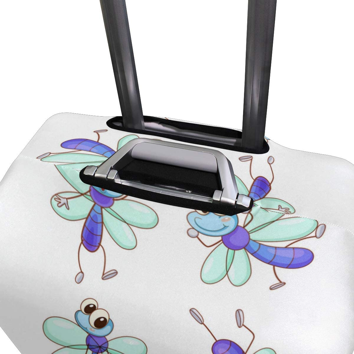 Cute Dragonfly Jewelry Bracelet Travel Luggage Protector Case Suitcase Protector For Man/&Woman Fits 18-32 Inch Luggage