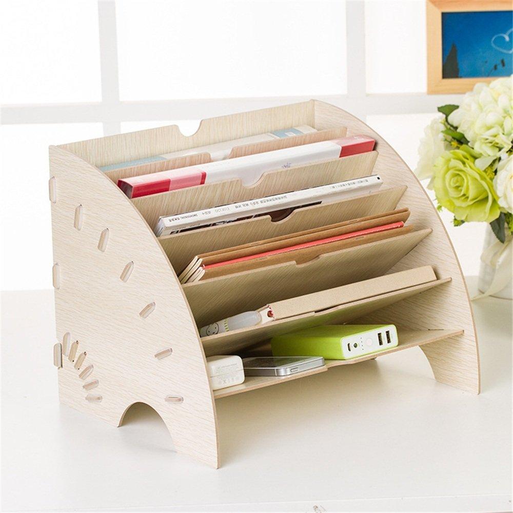LPYMX Caja de Almacenamiento Suministros de Escritorio Suministros Almacenamiento de Oficina Caja de Almacenamiento de información de Almacenamiento Final (Color : Natural, Tamaño : 35  27  27cm) f2eda8