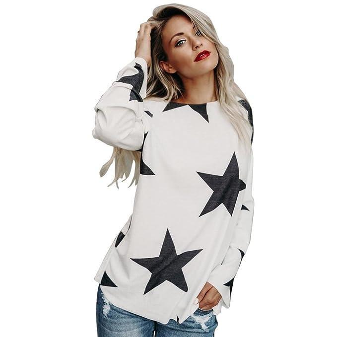 Yesmile Camicia Donna Donna off Spalla Maglietta a Righe Estate Elegant T  Shirt di Moda Manica f4716374c1e