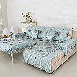 Sofa cushions,fabric four seasons universal non-slip cushion, simple and modern sofa sets-G 90x160cm(35x63inch)