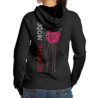 premium selection fbed4 6b8e9 VAVAAYA Women Depeche Mode Violator Album Pullover Funny Back Prints Best  Hoodie