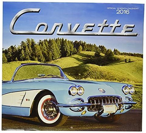 2016 Official 18-months Calendar Corvette Bonus Image (Corvette Planner)