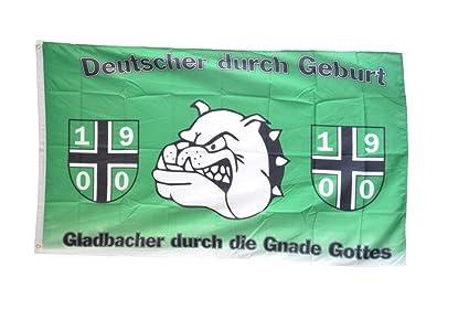 Mönchen Gladbach Mönchengladbach Die Nr.1 vom Niederrhein Fan Flagge 150 x 90 cm