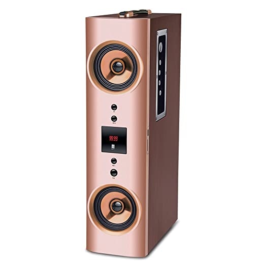 Iball Karaoke Booster Tower 2.1 Karaoke Speaker with Wireless Microphone and Remote Control Tower Speakers