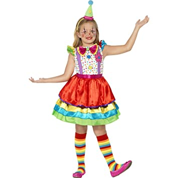 Smiffys-45250S Traje de Chica Bufón de Lujo, Con Vestido y ...
