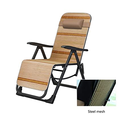 Amazon.com: Silla plegable plegable reclinable para cama ...