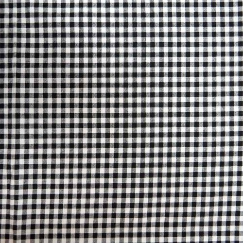 SheetWorld Fitted Cradle Sheet - Black Gingham Check - Made In USA by SHEETWORLD.COM (Image #1)