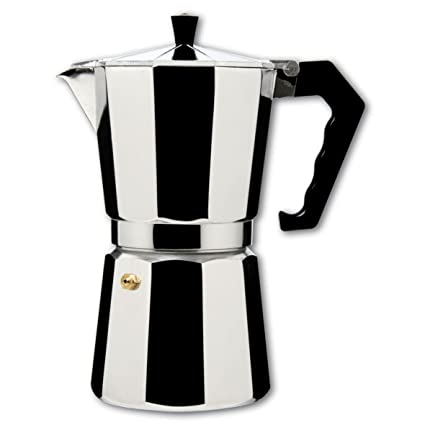 Cafetera Italiana Aluexpress 3 Tz. 242-3T. Hispania: Amazon.es ...