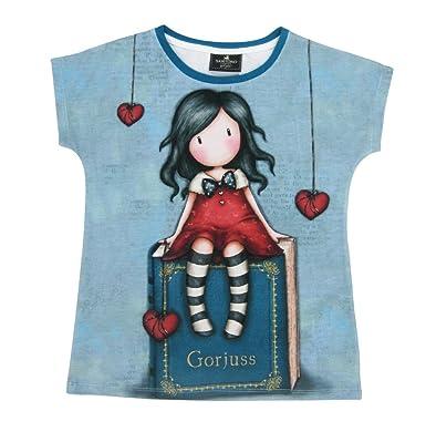 Girls Gorjuss Short Sleeve Tshirt