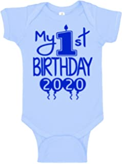 Amazon Com Baby Aspen My First Birthday Outfit For Boys Little Fella Seersucker Outfit Baby