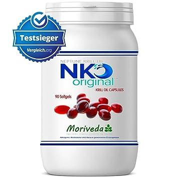NKO aceite de krill cápsulas (ganador de la prueba) 30, 90 o 270