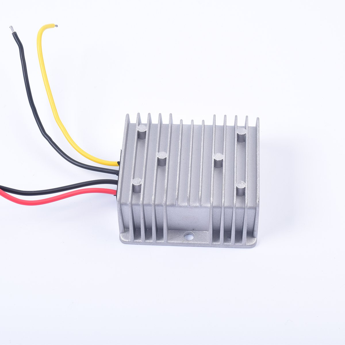 Car DC 12V 4A Voltage Stabilizer Surge Protector Power Supply Regulator for Auto Truck Vehicle Boat Solar System etc. EKYLIN 12T12-4A DC10-36V Input, DC12V Output