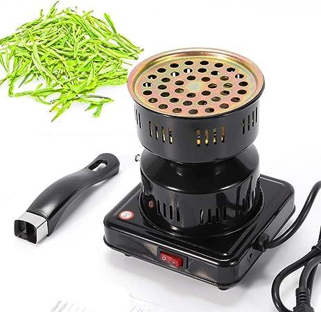 YIYIBY - Hornillo eléctrico para cachimba, 450 W, para carbón: Amazon.es: Hogar