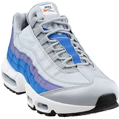 quality design 91f50 daa69 Amazon.com | Nike Air Max 95 SE Wolf Grey/Blue Nebula | Running