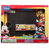 "Disney Mickey Mouse Clubhouse Chalkboard Set, 10x13"" Board, 4pc Chalk & Eraser"