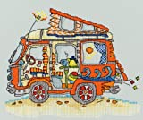 Bothy Threads Sew Dinky VW Van Cross Stitch Kit