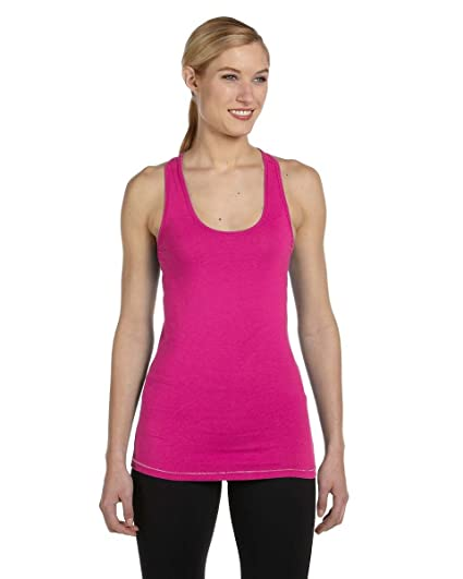 cb50d6f0effa7 Image Unavailable. Image not available for. Color  Alo Sport - Ladies  Racerback  Bamboo Tank