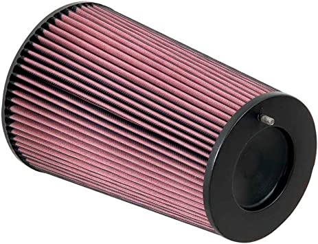Height; 8 in Base; 6.625 in K/&N RC-5283 Universal Clamp-On Air Filter: Round Tapered; 4.5 in 114 mm 203 mm Flange ID; 8 in 203 mm 168 mm Top