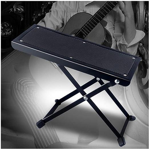 WSJF Pedal Plegable De Acero Sólido De La Guitarra Guitarra ...