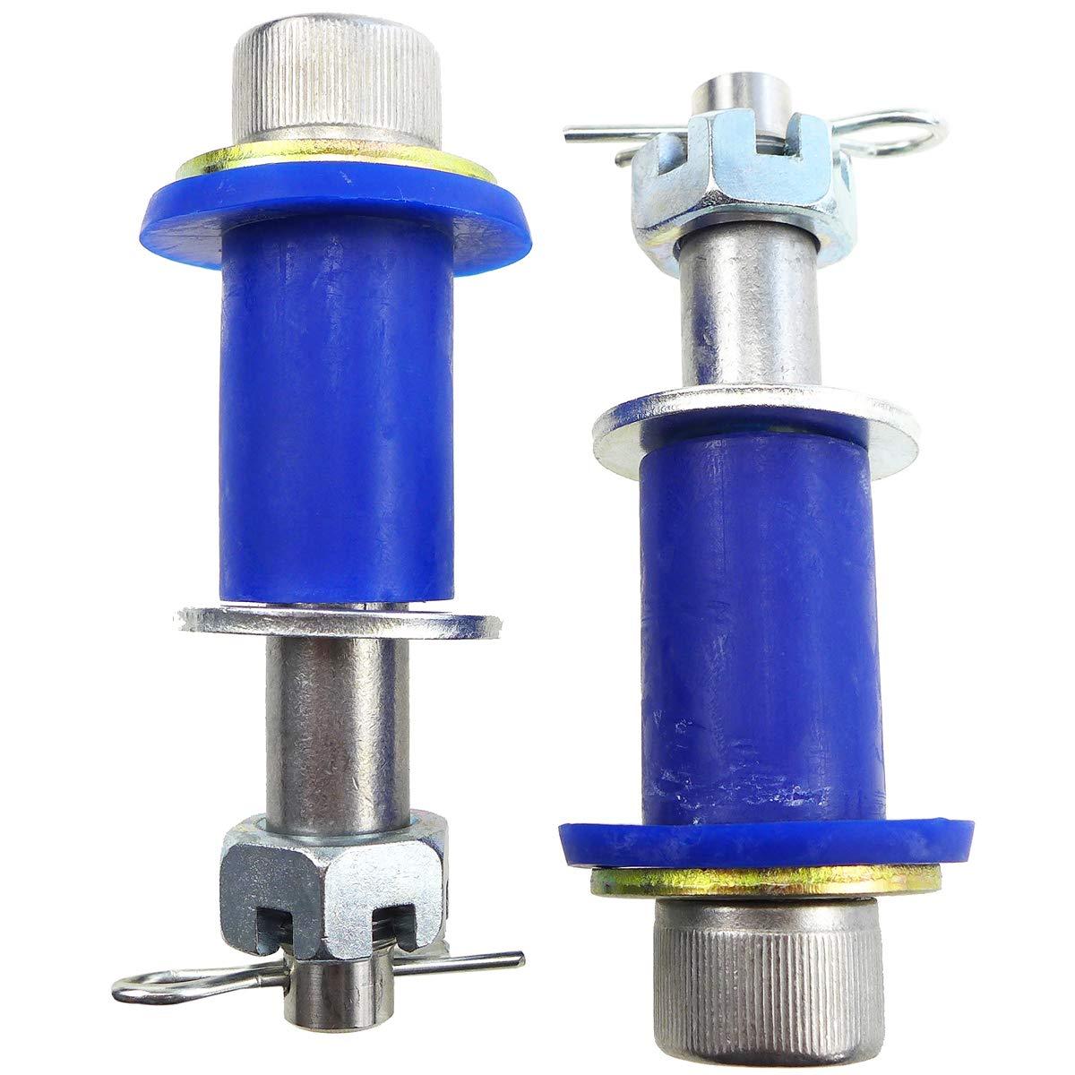 TIKSCIENCE Engine Hood Hinge Pivot Bolt Bushing Kit Fit for Peterbilt 378 379 Universal Replace 23-15273 13-04726 13-04727 Alternators Starters Plastic Iron Accessories
