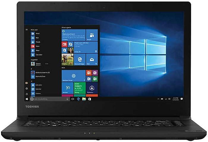 "2020 TOSHIBA Tecra C40-D 14 Business Laptop Computer| Intel Core i5-7200U up to 3.1GHz| 16GB DDR4 RAM, 256GB SSD| 14.4"" HD, Intel HD 620| 802.11ac WiFi, Bluetooth, HDMI, USB 3.0| Windows 10 Pro"