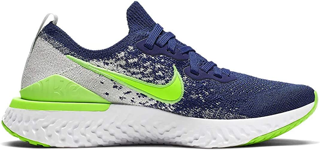 Nike Epic React Flyknit GS Amazon.com | Nike Epic React Flyknit 2 (gs) Kids Boys CK1689-400 ...