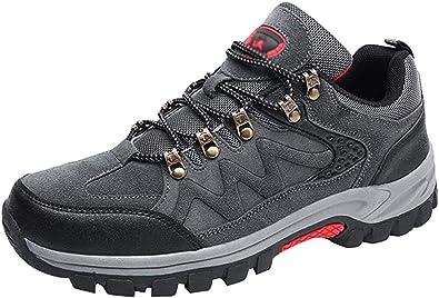 Yuanu Zapatos De Senderismo Hombres Zapatillas Ligeras De Escalada Botas De Trekking Al Aire Libre Seguro Respirable Calzado Deportivo para Correr ...