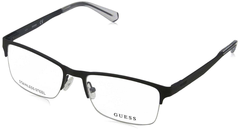 Eyeglasses Guess GU 1936 002 matte black//Clear Demo Lens