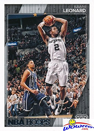 Kawhi Leonard 2016/2017 Panini Hoops NBA Basketball#121 in MINT Condition! Shipped in Ultra Pro Top Loader to Protect it! Awesome Card of San Antonio Spurs Superstar !