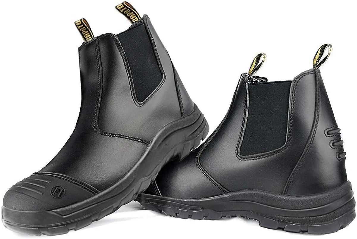 ROCKTURTLE Steel Toe Work Boots for Men