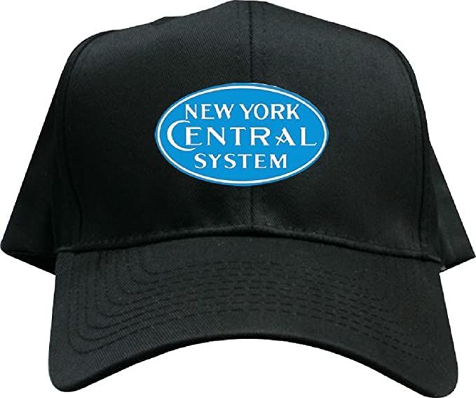 65762f8f40b Image Unavailable. Image not available for. Color  New York Central Blue  Logo Embroidered Hat ...