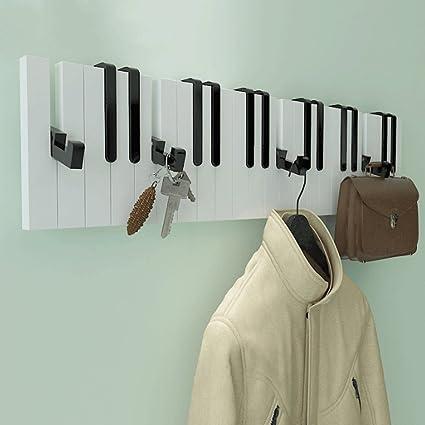 Perchero de pared para colgar percha dormitorio estante de ...