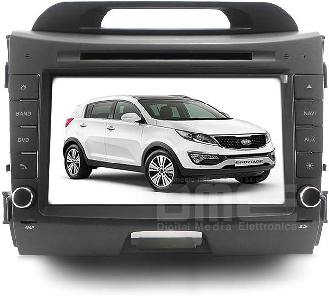 Radio de coche para Kia Sportage Full HD Touch DVD GPS VCDC ...