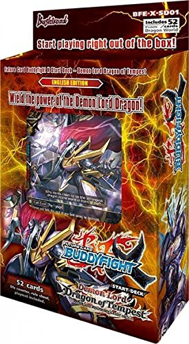 Buy Buddyfight Demon Lord Dragon of Tempest ENGLISH X Start