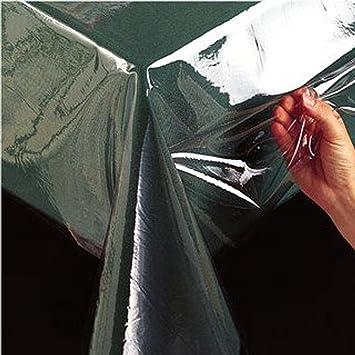 Good BENSON MILLS CLEAR PLASTIC TABLECLOTH   60X84 OBLONG