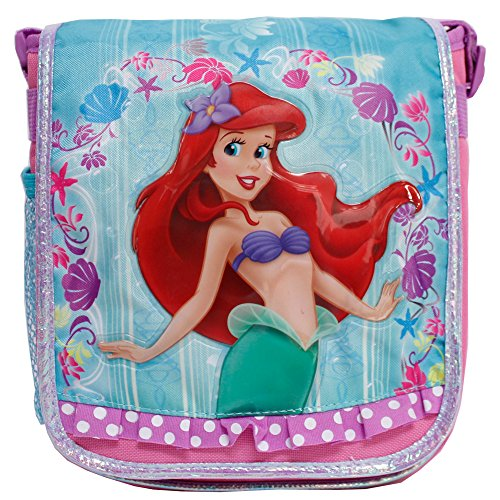 Disney Princess Ariel Mermaid Pink & Teal Insulated Lunch Box Bag