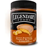 Legendary Foods Peanut Butter | Keto Diet Friendly, Low Carb, No Sugar Added, Vegan | Peanut Butter Cup (16oz Jar)