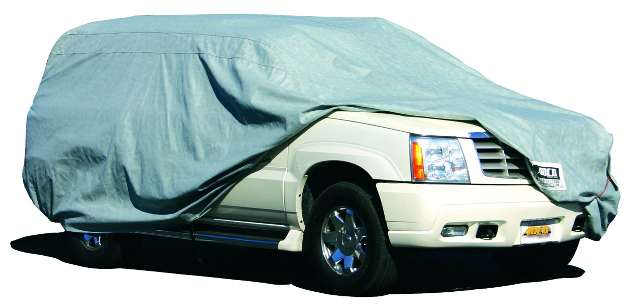 ADCO 220'' 12285 SFS AquaShed Cover for 196 to 220-Inch Long SUVs, Gray