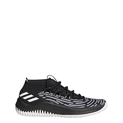 info for 0b322 541c6 adidas Dame 4 Black History Month Shoe Mens Basketball 7.5 Black-White