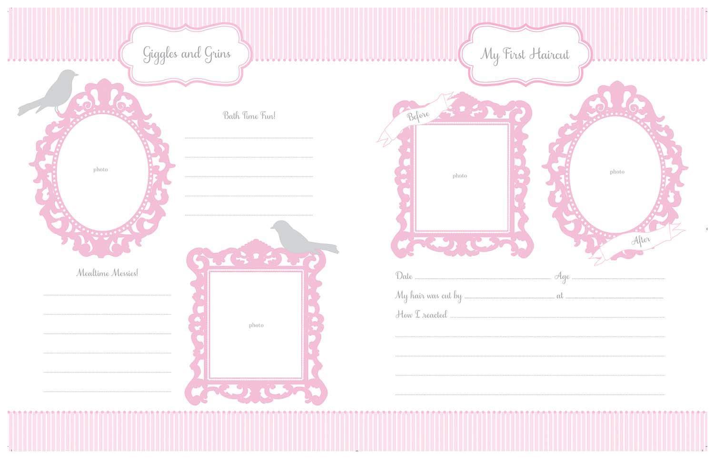 Baby Journal Andenken CR Gibson Babys erstes Ged/ächtnisbuch Bella Neugeborenes Baby Geschenk Set