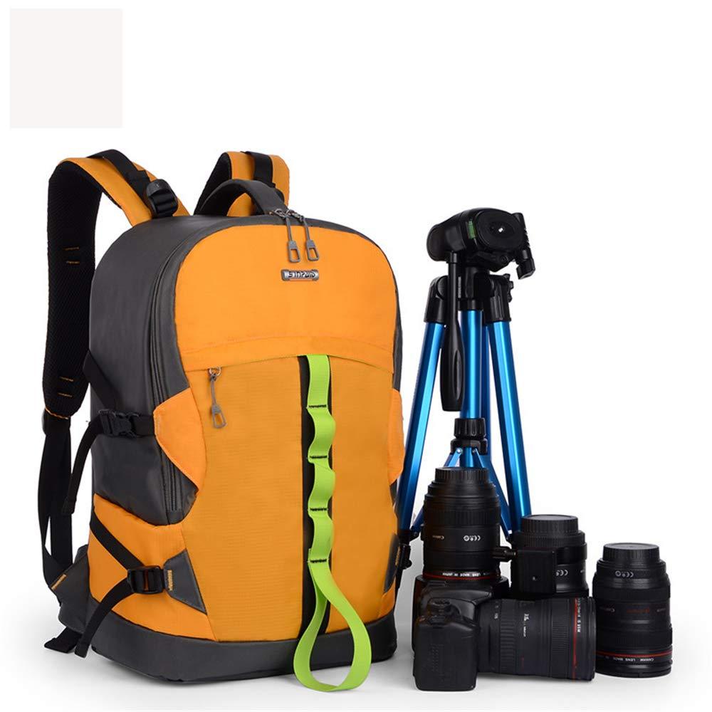 WWGG 防水写真バックパック プロフェッショナルカメラバッグ ニコン キヤノン ソニー その他のデジタル一眼レフカメラ レンズ 三脚バッグ ディバイダー レインカバー   B07M7M9SKR