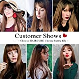 HAIRCUBE 20 Inch Nature Straight Ombre Wigs for