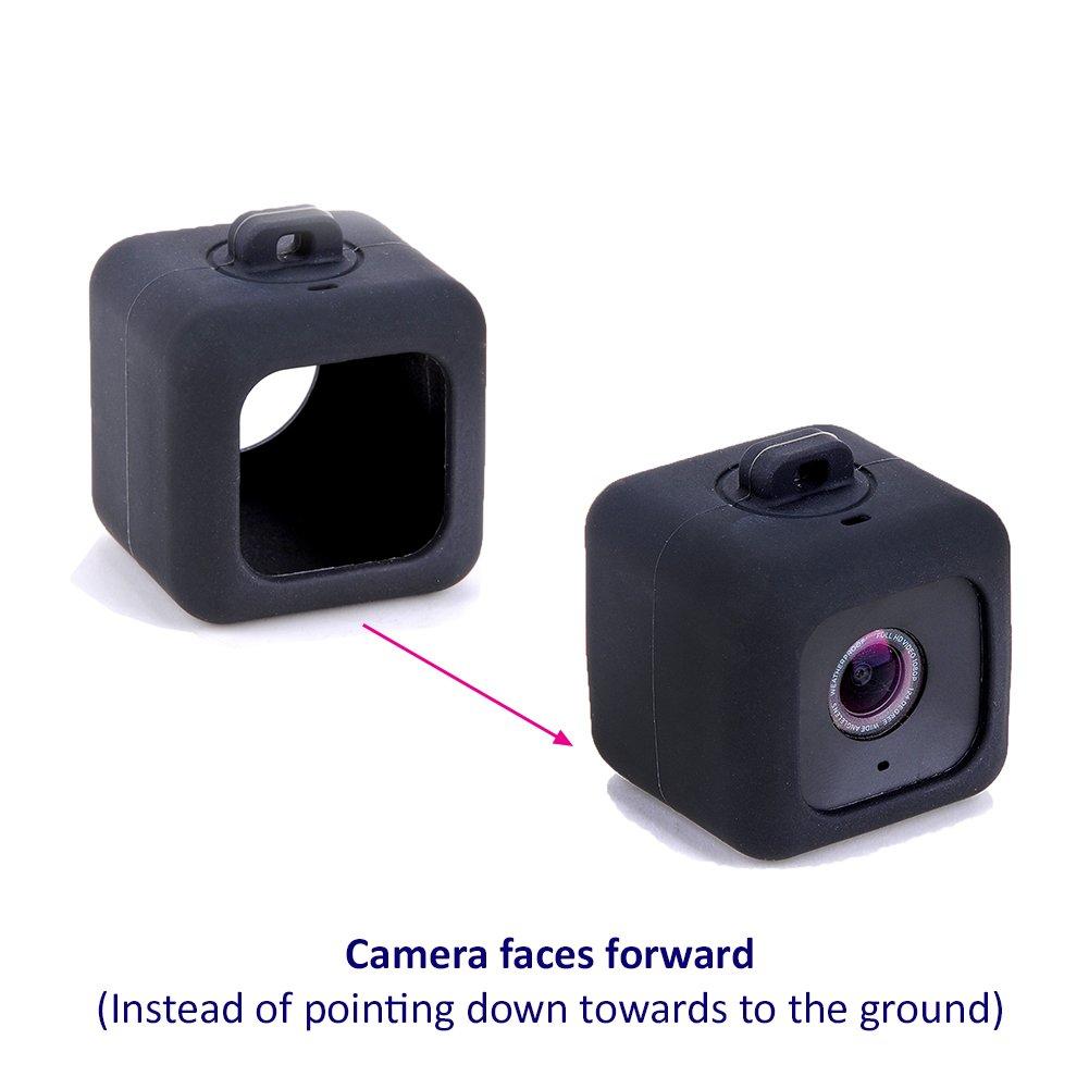 Polaroid Cube HD Carcasa Pendiente + Cordón + Clip Mosquetón ...
