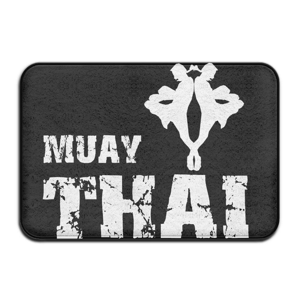 Muay Thai Non Slip Welcome Doormat Standing Rug by Mat_Rug&