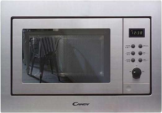 Candy MIC211EX - Microondas integrable con grill, Capacidad 21L ...